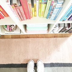 Books and colour  (Lucy Loves Ya Blog) Tags: inspiration color colour books converse shoes lookingdown