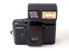 Cosina CX-1 02 () Tags: cosina lomo lomography purple zone focus black plastic japan vintage retro classic 35mm film camera