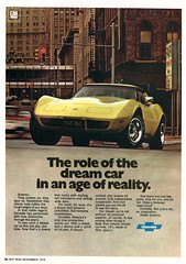 1977 Chevrolet Corvette Advertisement Hot Rod November 1976 (SenseiAlan) Tags: 1977 chevrolet corvette advertisement hot rod november 1976