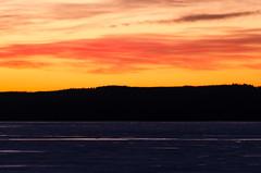 Lake Nuas (Pekko Ahlsten) Tags: nikon nikond7000 finland suomi lakenuas lake landscape landscapes sunset winter cold colours travel sky clouds christmas nikkor nikon70200f4 ice snow black beautiful sotkamo kajaani vuokatti järvi nuasjärvi