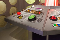 Console controls | Fourth and Fifth Doctor's TARDIS-2 (Paul Dykes) Tags: doctorwho tardisconsole consoleroom controlroom 1975 1983 pyramidsofmars thekingsdemons thetwodoctors fourthdoctor 4thdoctor tombaker fifthdoctor 5thdoctor peterdavison season14 season20 replica prop props televisionprops doctorwhoexperience cardiff wales cymru cardiffbay