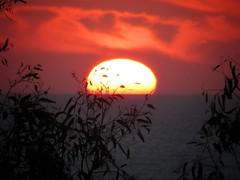 Sunset in Sicily (gdio1170) Tags: sunset sun sea nature tramonto puestadelsol