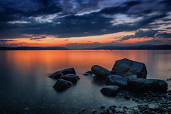 Sonnenuntergang am Bodensee (bastianlui) Tags: sonnenuntergang bodensee berlinger see sunrise lake constance