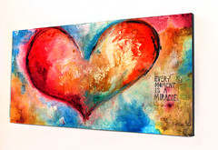 Heart (ivanguaderrama) Tags: visit our page httpwwwivanguaderramacom buy original prints httpfineartamericacomprofilesivanguaderramaartgalleryhtml art arts paintings painting painter originals artwork contemporany abstract sanjosedelcabo cabosanlucas artdistrict artgallery christianwork christianart christianpaintings abstracts ivanguaderrama heart hearts love corazon corazones colorful
