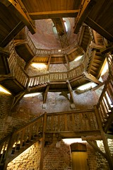Juliusturmtreppe (daniel_james) Tags: 2016 spandau berlin germany europe canon1022mm stairs citadel zitadelle juliustower juliusturm wooden spiral