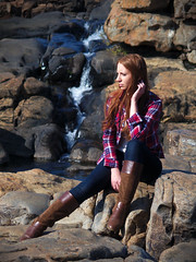 Marlboro cowgirl (Jorge Tarlea) Tags: marlboro cowgirl cowboy oldwest western oeste girl chica redhead pelirroja beauty preciosa gorgeous africa frica southafrica sudfrica panoramaroute