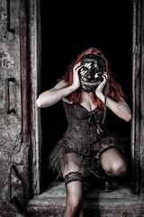 _RMS9950 (rsheill) Tags: zylonite abandoned urbex urbanexploration urbandecay urbanexplorer decay rust grunge halloween masks curtis paper adams ma