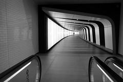 Tunnel walk (joephoto uk) Tags: kings cross tunnel london man underground escalator