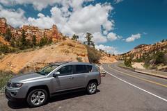 Utah Route 12 (Fizzik.LJ) Tags: cars rocks utah road usa spring ut clouds tropic unitedstates us