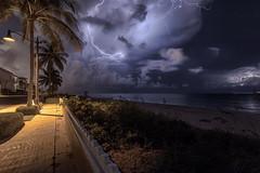 Storm Chasing (Bobby Wummer) Tags: lightning beachlightning storms storm thunderstorm thunderstorms nightphotography night stormchaser stormchasing bobbywummerphotography landscapephotography seascape photography weather clouds thunderclouds