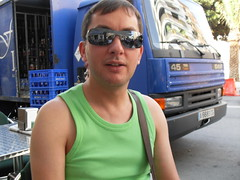 Alicante - Oct 2009 (CovBoy2007) Tags: alicante costablanca spain man boy men homme lad guy sunglasses stud hunk geek jock sonofadam handsome male chico lemale gay sexy butch sleeveless tanktop vest