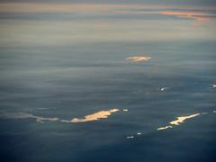 Hetch Hetchy Junction (Sotosoroto) Tags: aerial california smog haze lakes woodwardreservoir