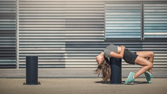 (dimitryroulland) Tags: nikon d600 85mm 18 dimitry roulland natural light young artist gym gymnastics gymnast montpellier france urban street city performer art dance dancer flexible people flexibility