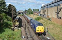 Heavy Metal (Rhysj17) Tags: 37714 drs directrailservices diesel diesellocomotive dieseltrain greatcentralrailway gcr dieselgala loughborough leicester class37