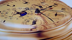 Time (Nick Fewings 4.5 Million Views) Tags: panasonic nickfewings seasons months days seconds hours numerals roman gold wristwatch hand hands numbers dial watch clock time