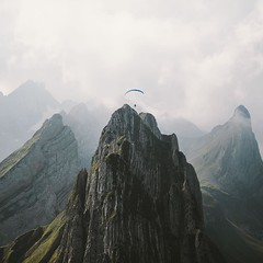 "I made new additions to my ""Ultralight Beam"" series in Switzerland  yesterday. This guy tho! (regnumsaturni) Tags: landscape nature travel explore wanderlust outdoors mountain forest vsco vintage"
