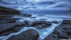 and the cities take (mark silva) Tags: wombarra wollongong sydney nsw australia cloud ocean