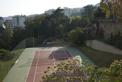 . (Marie Nolle Taine) Tags: street city urban france town europe lyon tenniscourt