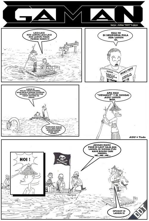 Cartoon Sabah | Facebook