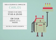 cum_i_robot (Invitaenunclic) Tags: birthday christmas original wedding party green digital logo navidad design moving foto fiesta thankyou mail boda creative picture email announcement note event invitation card virtual online evento christening elegant attendance festa esmorzar cumpleaos diseo invitacin luncheon nadal src sustainable almuerzo bautizo response firstcommunion rsvp econmico elegante coctel tarjeta diseny customize invitaciones despedidadesoltero comunin ecolgico confirmacin creativo bachelorsparty bateig agradecimiento sostenible asistencia personalizar invitaci agrament esdeveniment puestadelargo invitacinonline invitacinpersonalizada cambiodomicilio posadadellarg bridalsparty