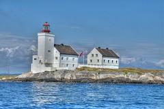 Homborsund Fyr (TLU66) Tags: lighthouse hdr fyr homborsund d90 blindleia