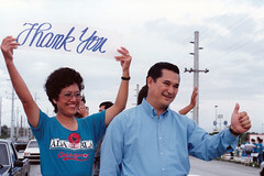 Governor Joseph and First Lady Rosanne S. Ada