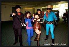 San Diego Comic-Con 2012 THE AVENGERS, ZENA, & LONE RANGER (Howie Muzika) Tags: ca sexy male female costume sandiego cosplay awesome bbc heroic sdcc pocketwizard strobist borderfx lumoprolp160 sandiegocomiccon2012 strobistbackpack