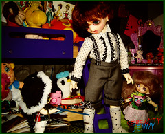 Play time (serenity jenny) Tags: boy dark doll dolls disney charlie pirate bjd cupid ruby sir pong fairyland percy puki pongpong bjds ltf pukipuki littlefee cupid3