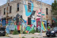 the foot of Metropolitan Avenue (Mattron) Tags: nyc newyorkcity streetart newyork brooklyn graffiti waterfront eastriver williamsburg gothamist industrialwarehouse