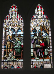Windows in the German Church at the Delius Arts & Cultural Centre (Artworks Creative Communities) Tags: bradford centre arts stainedglass cultural westyorkshire germanchurch delius grade2listed deutscheevangelischekirche frederickdelius artworkscreativecommunities deliusartsculturalcentre