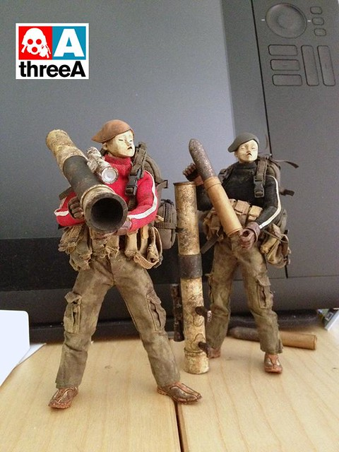 threeA - Action Portable Heavy TK(1/12 比例重裝TK)
