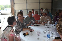 2012 Glacial Ridge Winery Alumni Event