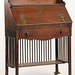 102. Arts and Crafts Writing Desk