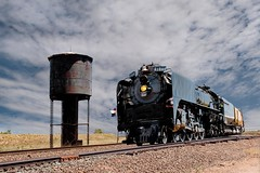 #844 at tank (Rocky Pix) Tags: mountain up pix rocky days steam f16 40mm nikkor frontier excursion wye speer 844 rockypix 1400sec normalzoom 2470mmf28g wmichelkiteley