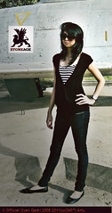 Stoneage Jeans Co. (uz360) Tags: girl skinny glasses fashionphotography top jet jeans uzairqadri uz360arts stoneagejeansco