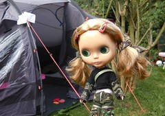 Bythe Goes Camping