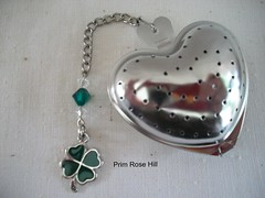 4 leaf clover tea 2 (Prim*Rose*Hill) Tags: tea infuser teaball