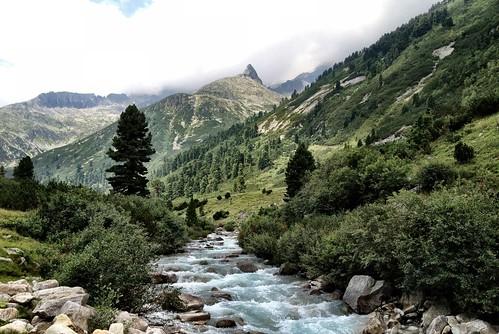 Mountain Range around Schlegeis Dam, Austria
