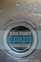 Non-Toxic Drain Cleaning