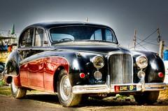 The Jaguar MK9. (Mian Ali Humayun) Tags: cars jag jaguar saloon f11 hdr 1960 islamabad mk9