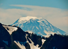 Mt. Adams from Mt. Rainier Photo