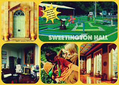 Sweetington Hall postcard, 1974 (Sweetington) Tags: postcard 1970s visitors statelyhome