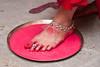 Badhu Baran (Shankha SD) Tags: wedding indianwedding indianmarriage bengaliwedding alpona bengalimarriage dudhaalta