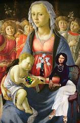 La Joconde et la Vierge  lEnfant. (el_papou) Tags: monalisa mona papou cube leonard vinci rubiks botticelli passezmoilajoconde