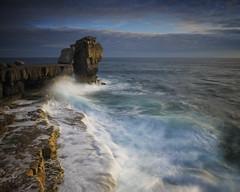 Pulpit Rock, Dorset (Weeman76) Tags: sea seascape portland coast dorset swell pulpitrock jurassiccoast paulwheeler nd106 afszoomnikkor2470mmf28ged d800e