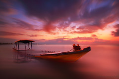 STUCK IN THE MOMENT THAT YOU CANT GET OUT OF IT,,, (ManButur PHOTOGRAPHY) Tags: ocean longexposure morning light red sea sky cloud seascape blur beach water clouds sunrise canon landscape photography eos scenery colorful aqua asia exposure ship waterfront view nightshot explorer line explore filter shore 7d nd usm dslr filters polarizer 1022mm hitech tonal hoya sanur waterscape eastasia colourfull canonefs1022mmf3545usm polarize f3545 nd8 canon7d easasia pantaimatahariterbit manbutur manbuturphotography