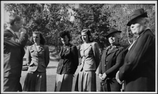Thérèse Casgrain, third from the left; her dau...