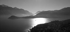 Lake Como (alanpeacock2) Tags: frommobileme lakecomoitaly bellagio cadenabbia lakes mountains water italy photostream landscape pixplor blackandwhite lagodecomo italia lago lake bw como monochrome largodicomo ngc aperfectday