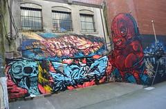 Rukis, Type e Soak (P. Matheus Lacerda) Tags: street canada art vancouver graffiti bc graff grafite frafitti