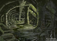 conceptart_08 (CONCEPT ART FOR ALL) Tags: old city art rock death for moss blood all cement sword fi concept fighting pillars destroyed sci